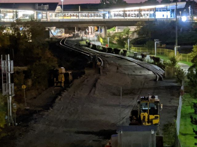 Snapshot of Bayview Station - October 8, 2020