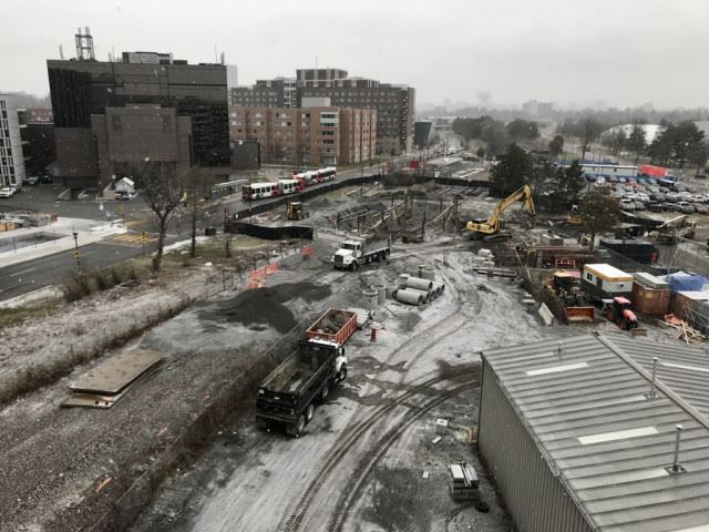 Snapshot of Carleton Station - December 14, 2020