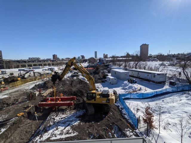 Snapshot of Bayview Station - February 4, 2021