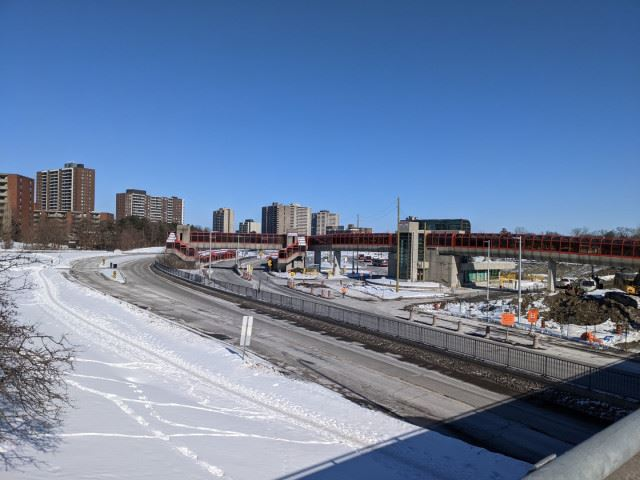 Snapshot of Lincoln Fields Station - February 11, 2021