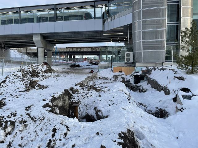 Snapshot of Bayview Station - February 21, 2021