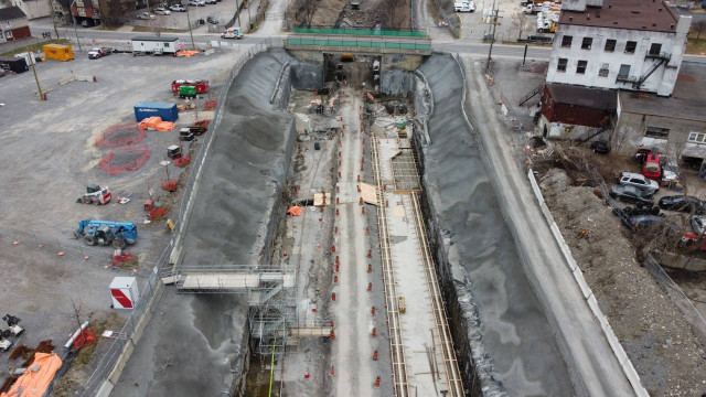 Snapshot of Corso Italia Station - April 9, 2021