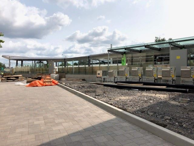 Snapshot of uOttawa Station - August 18, 2018