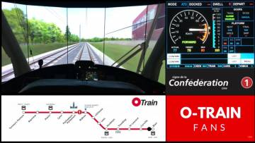 Confederation Line - Simulated Run from Blair to Tunney's Pasture