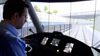 Behind the Scenes : Alstom Citadis Spirit simulator