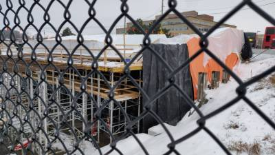 Snapshot of Tunney's Pasture Station - January 5, 2021