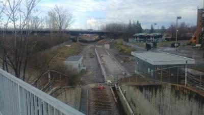 Snapshot of Mooney's Bay Station - April 14, 2021