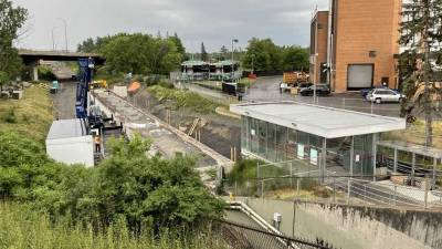 Snapshot of Mooney's Bay Station - June 14, 2021