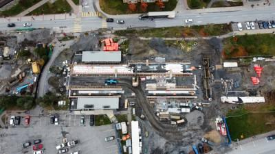 Snapshot of Carleton Station - October 22, 2021