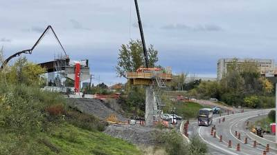 Snapshot of the Sawmill Creek flyover - October 25, 2021