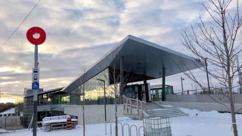 Snapshot of Bayview Station - November 18, 2018