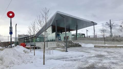Snapshot of Bayview Station - January 9, 2019