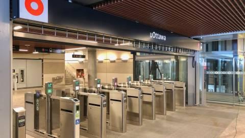 Snapshot of uOttawa Station - January 9, 2019