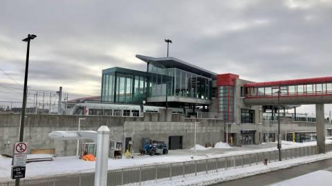 Snapshot of Blair Station - January 10, 2019