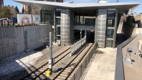 Snapshot of Lees Station - April 13, 2019