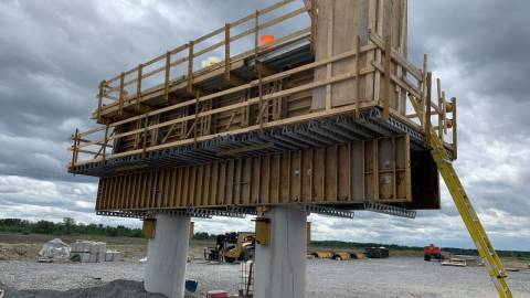 Snapshot of Bowesville Station - May 30, 2020