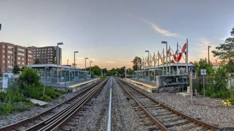 Snapshot of Carleton Station - July 24, 2020