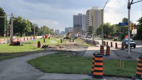 Snapshot of Sherbourne Station - August 24, 2020