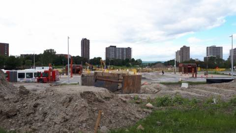 Snapshot of Lincoln Fields Station - June 16, 2020