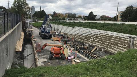 Snapshot of Tunney's Pasture Station - October 4, 2020