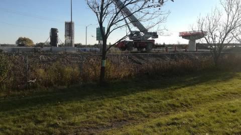 Snapshot of Highway 174 Flyover Bridge - October 31, 2020