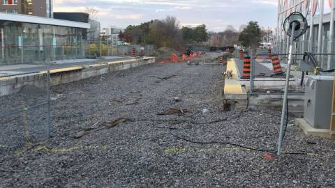 Snapshot of Carleton Station - November 11, 2020