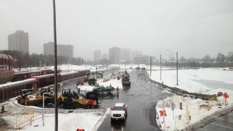 Snapshot of Lincoln Fields Station - November 26, 2020