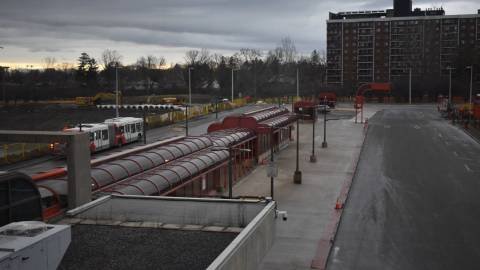 Snapshot of Lincoln Fields Station - December 5, 2020