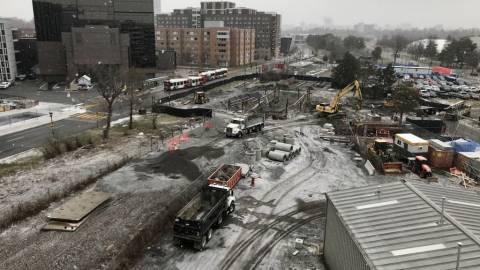 Snapshot of Carleton Station - December 14, 2020