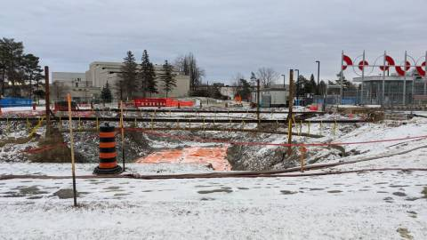 Snapshot of Carleton Station - December 27, 2020