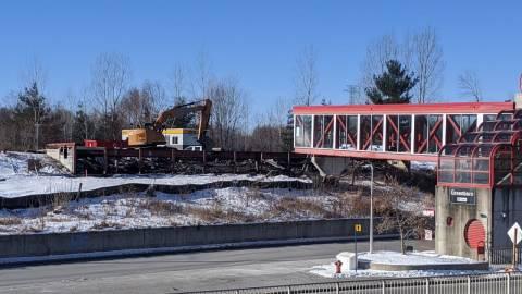 Snapshot of Greenboro Station - January 8, 2021