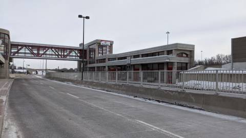 Snapshot of Bayshore Station - February 13, 2021