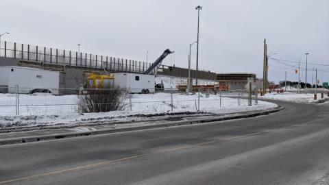 Snapshot of Holly Acres Rail Bridge - February 13, 2021
