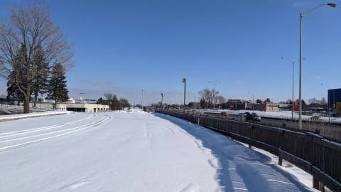 Snapshot of Queensview Station - February 14, 2021