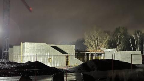 Snapshot of Uplands Station - April 15, 2021