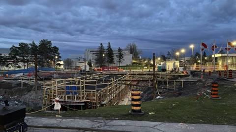 Snapshot of Carleton Station - April 18, 2021