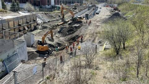 Snapshot of Walkley Station - April 24, 2021