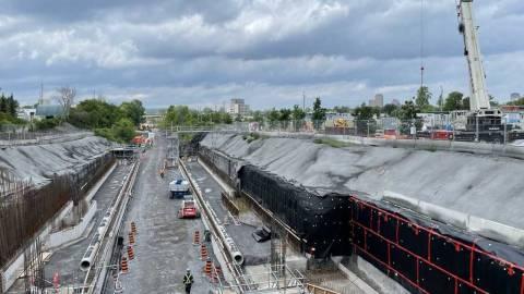 Snapshot of Corso Italia Station - June 21, 2021