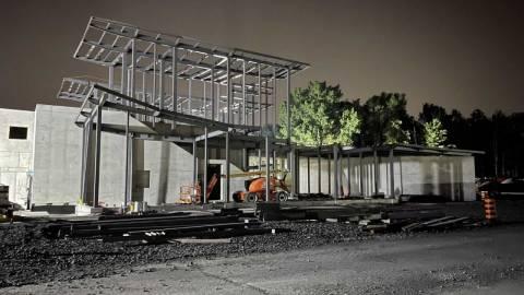 Snapshot of Uplands Station - July 27, 2021