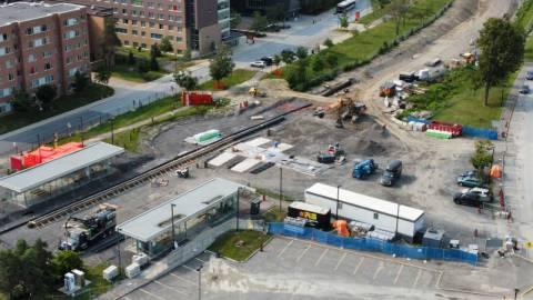 Snapshot of Carleton Station - August 4, 2021