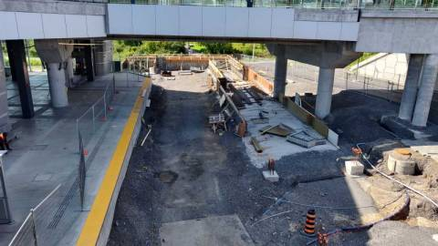 Snapshot of Bayview Station - August 2, 2021