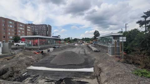 Snapshot of Carleton Station - August 18, 2021