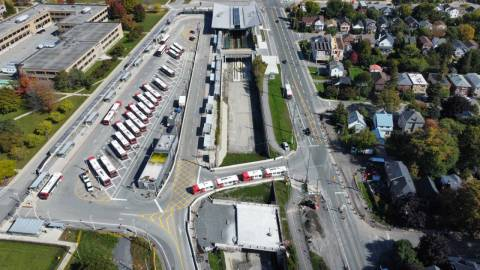Snapshot of Tunney's Pasture Station - October 5, 2021
