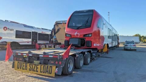 Snapshot of the Stadler FLIRT Train C10 - October 6, 2021