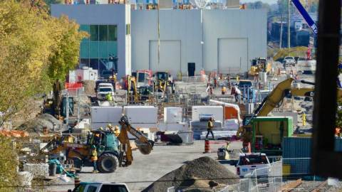 Snapshot of Walkley Yard MSF - October 7, 2021