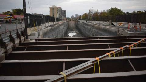 Snapshot of the Richmond Road Tunnel - October 9, 2021