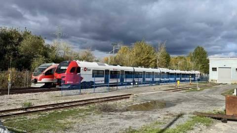 Snapshot of the Stadler FLIRT C10 train - October 21, 2021