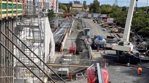 Snapshot of Walkley Station - October 22, 2021