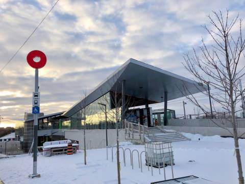 Snapshot of Bayview Station - November 18, 2018