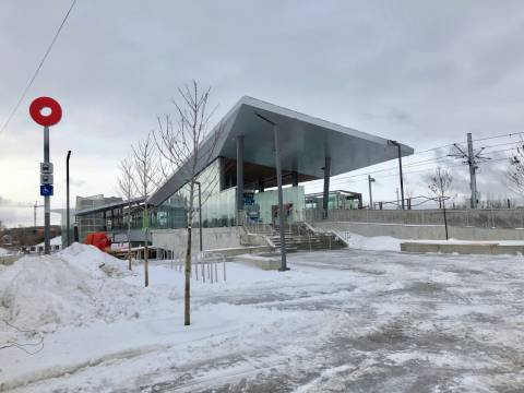 Snapshot of Bayview Station - January 9, 2019